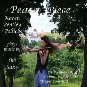 Karen Bentley Pollick plays music by  Swedish composer Ole Saxe